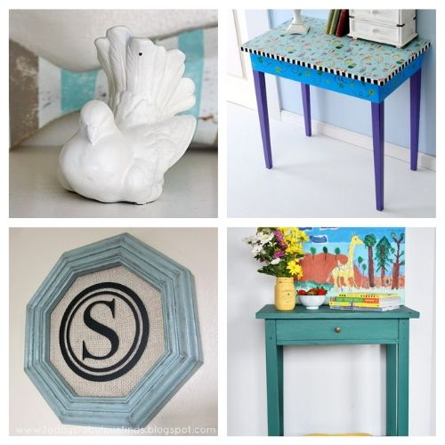 20 Fantastic Thrift Store DIY Projects- Transform your space with these fantastic thrift store decor makeovers! The options are endless when it comes to upcycling furniture and other accessories! | #DIY #craft #thriftStoreMakeover #upcycle #ACultivatedNest