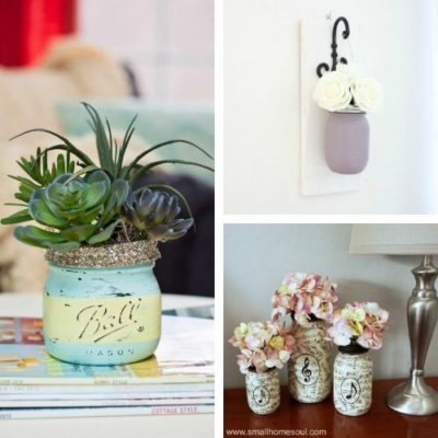 20 Creative DIY Mason Jar Decor Ideas