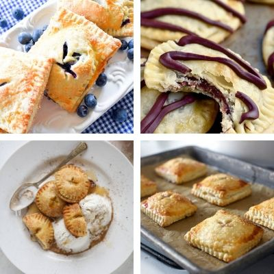15 Yummy Homemade Hand Pies- Here are 15 amazingly tasty homemade hand pie desserts that you won't want to miss out on. There are so many delicious flavors to try! | chocolate dessert, fruit dessert, #recipe #dessert #handPies #dessertRecipe #ACultivatedNest