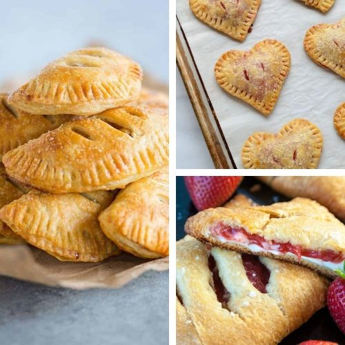 15 Scrumptious Hand Pie Desserts- Here are 15 amazingly tasty homemade hand pie desserts that you won't want to miss out on. There are so many delicious flavors to try! | chocolate dessert, fruit dessert, #recipe #dessert #handPies #dessertRecipe #ACultivatedNest