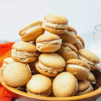 Mini Pumpkin Cheesecake Sandwich Cookies