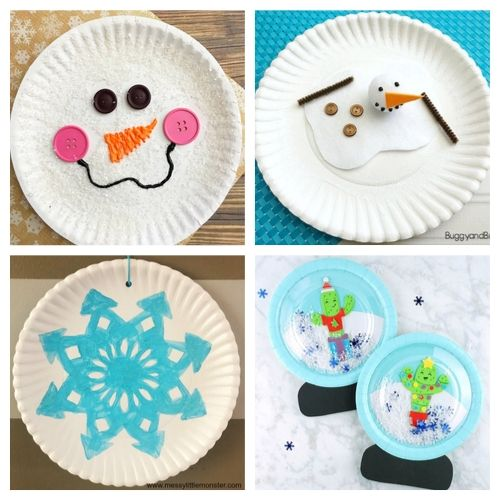 20 Adorable Winter Paper Plate Crafts for Kids- Cure the winter blues with these creative and adorable paper plate winter crafts for kids. They will love putting together penguins, polar bears, and more! | #kidsCrafts #crafts #paperPlateCraft #winterCrafts #ACultivatedNest