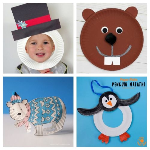 20 Adorable Christmas Paper Plate Kids Crafts- Cure the winter blues with these creative and adorable paper plate winter crafts for kids. They will love putting together penguins, polar bears, and more! | #kidsCrafts #crafts #paperPlateCraft #winterCrafts #ACultivatedNest