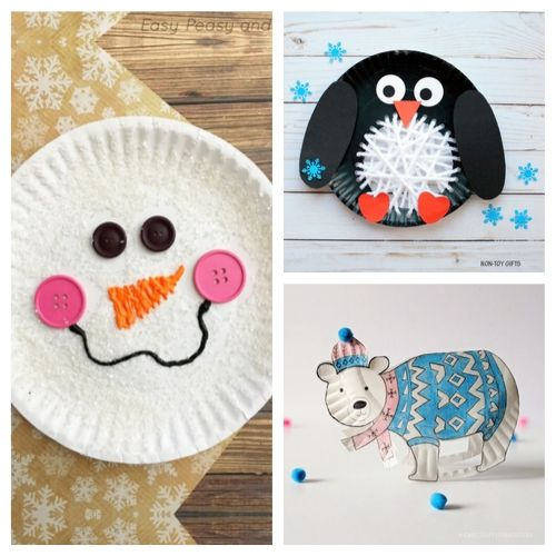 20 Adorable Paper Plate Winter Crafts for Kids- Cure the winter blues with these creative and adorable paper plate winter crafts for kids. They will love putting together penguins, polar bears, and more! | #kidsCrafts #crafts #paperPlateCraft #winterCrafts #ACultivatedNest