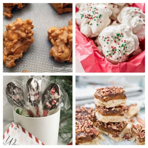 20 Homemade Holiday Candy Recipes- There is so much to love about these delicious homemade Christmas candy recipes. They're easy to make and will be the perfect addition to your dessert table! | Christmas dessert recipes, holiday candy recipes, red and green candy to make, #ChristmasRecipes #ChristmasCandy #recipe #homemadeCandy #ACultivatedNest