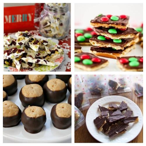 20 Christmas Candies You Can Make at Home- There is so much to love about these delicious homemade Christmas candy recipes. They're easy to make and will be the perfect addition to your dessert table! | Christmas dessert recipes, holiday candy recipes, red and green candy to make, #ChristmasRecipes #ChristmasCandy #recipe #homemadeCandy #ACultivatedNest