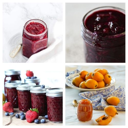 20 Homemade Jams and Jellies to DIY- Try some of these delicious homemade jams and jellies and you will be impressed by their incredible flavors. Plus, they are great gifts and easy to make! | #recipe #jelly #jam #homemade #ACultivatedNest