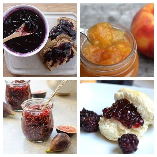 20 Homemade Jams and Jellies to Give as Gifts- Try some of these delicious homemade jams and jellies and you will be impressed by their incredible flavors. Plus, they are great gifts and easy to make!   #recipe #jelly #jam #homemade #ACultivatedNest