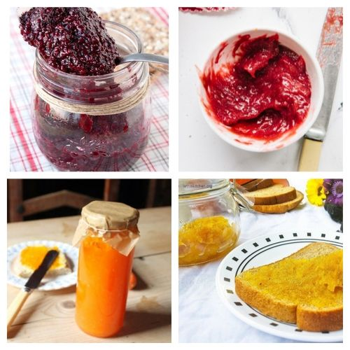20 Jams and Jellies to Make at Home- Try some of these delicious homemade jams and jellies and you will be impressed by their incredible flavors. Plus, they are great gifts and easy to make! | #recipe #jelly #jam #homemade #ACultivatedNest