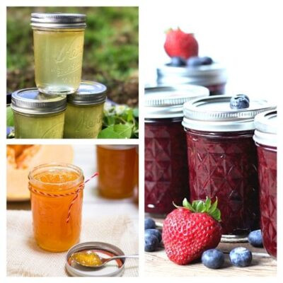 20 Delicious Homemade Jams and Jellies