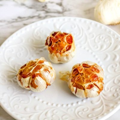 Homemade Roasted Garlic