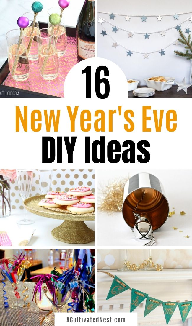 16 New Year's Eve DIY Ideas