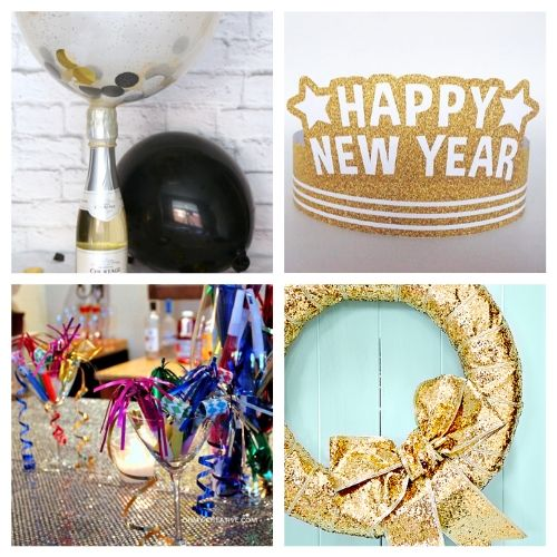 16 DIY New Year's Eve Ideas- Celebrate the new year with these brilliant New Year's Eve DIY ideas! You'll find everything you need to host a lovely event to remember! | #NewYearsEve #DIY #craft #NewYearsDecor #ACultivatedNest