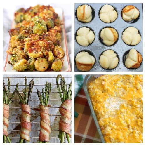 20 Homemade Christmas Side Recipes- Everyone in your family will be impressed by these delicious Christmas side dishes! They are easy to make and are sure to be a big hit!   Christmas dinner recipe, #Christmas #recipe #sideDishes #food #ACultivatedNest
