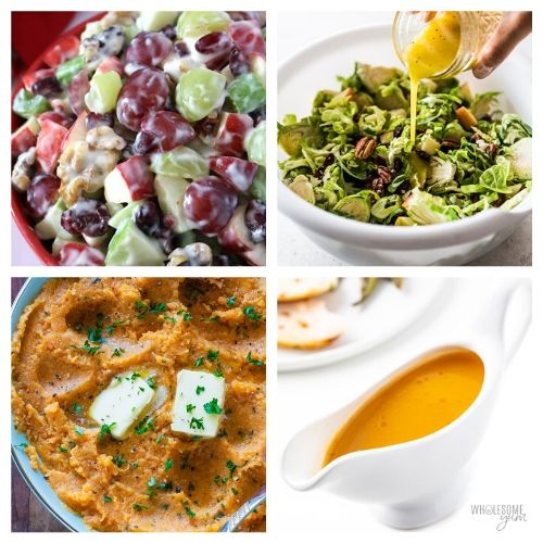 20 Side Dishes to Serve this Christmas- Everyone in your family will be impressed by these delicious Christmas side dishes! They are easy to make and are sure to be a big hit!   Christmas dinner recipe, #Christmas #recipe #sideDishes #food #ACultivatedNest