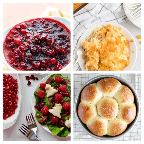 20 Homemade Christmas Sides- Everyone in your family will be impressed by these delicious Christmas side dishes! They are easy to make and are sure to be a big hit!   Christmas dinner recipe, #Christmas #recipe #sideDishes #food #ACultivatedNest