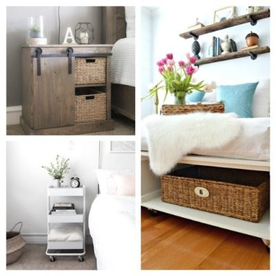 10 Clever Bedroom Storage Ideas