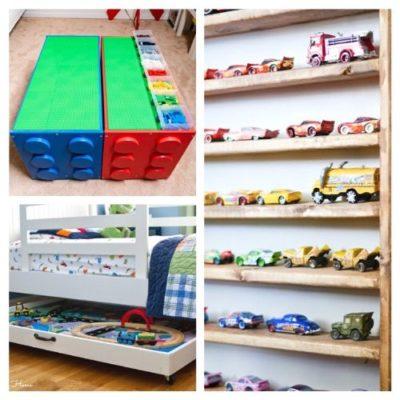 10 Creative DIY Toy Storage Ideas