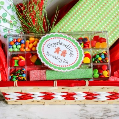 DIY Gingerbread House Decorating Kit Gift