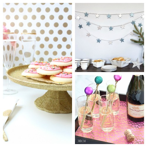 16 New Year's Eve DIY Ideas- Celebrate the new year with these brilliant New Year's Eve DIY ideas! You'll find everything you need to host a lovely event to remember! | #NewYearsEve #DIY #craft #NewYearsDecor #ACultivatedNest