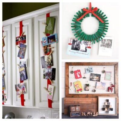 Creative Ways To Display Christmas Cards
