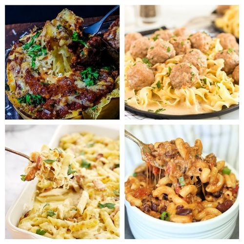 20 Comfort Foods to Try This Winter- All of these delicious winter comfort food recipes are perfect for cold weather! They're warm, hearty, delicious, and sure to be a hit with your family! | cold weather food, hearty soups, stew recipes, casserole dinner ideas, #comfortFood #recipe #food #casserole #ACultivatedNest