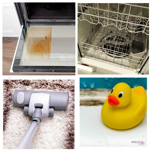Cleaning Tips for Busy Homemakers- Get your home in order the easy way with these 20 genius homemaking hacks and tips! These budget-friendly DIY solutions are what every busy homemaker needs! | #homemaking #cleaningTips #hacks #homemadeCleaner #ACultivatedNest