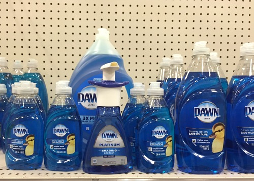 15 Money Saving Ways to Use Dawn Dish Soap- A clever way to save money is to use these Dawn dish soap hacks! There are so many frugal ways to use Dawn soap that you'll never have thought of! | ways to use Dawn dish soap, frugal living tips, #moneySavingTips #frugalLiving #hacks #saveMoney #ACultivatedNest