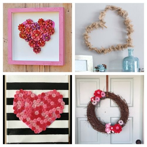 20 DIY Valentine's Day Decorations- If you're feeling crafty, take a look at these fantastic Valentine's Day DIY decor ideas! They will make your home look lovely! | #ValentinesDay #DIY #ValentinesDayDecor #craft #ACultivatedNest