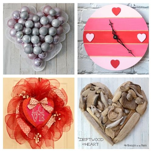 20 Fantastic Valentine's Day Crafts- If you're feeling crafty, take a look at these fantastic Valentine's Day DIY decor ideas! They will make your home look lovely! | #ValentinesDay #DIY #ValentinesDayDecor #craft #ACultivatedNest