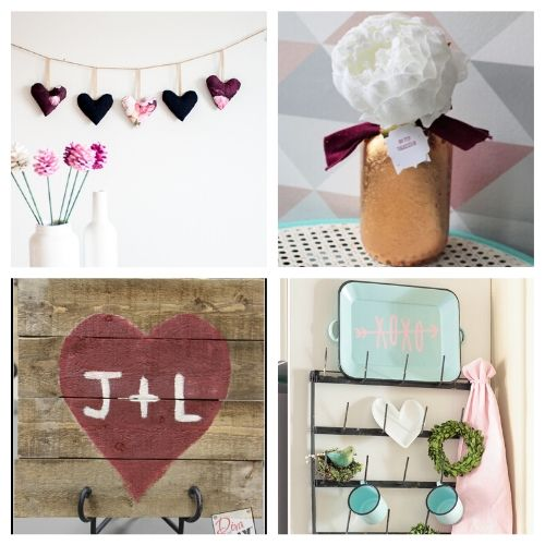 20 DIY Valentine's Day Decor Ideas- If you're feeling crafty, take a look at these fantastic Valentine's Day DIY decor ideas! They will make your home look lovely! | #ValentinesDay #DIY #ValentinesDayDecor #craft #ACultivatedNest