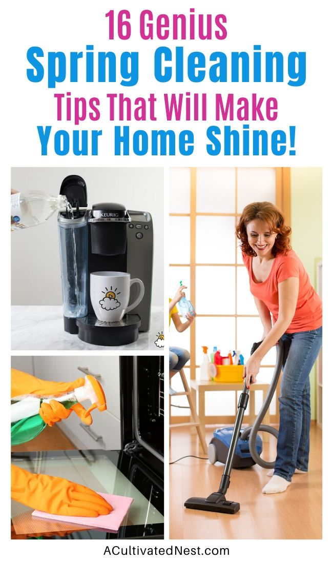 16 Spring Cleaning Tips To Make Your Home Shine