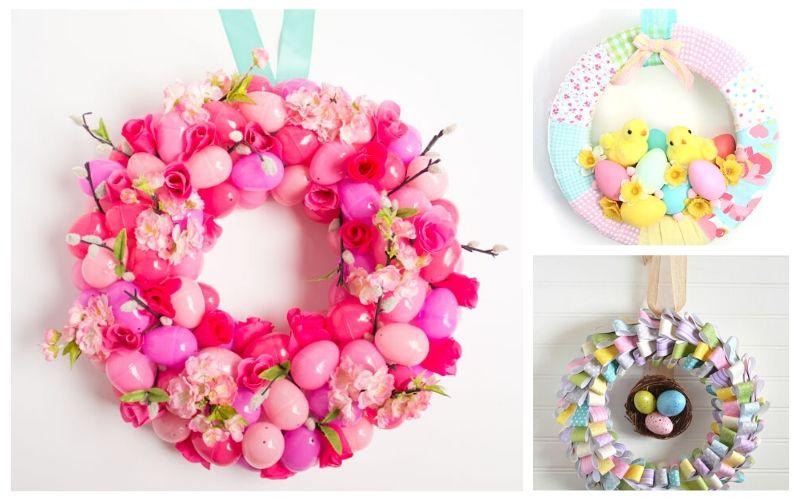 15 Gorgeous DIY Easter Wreaths