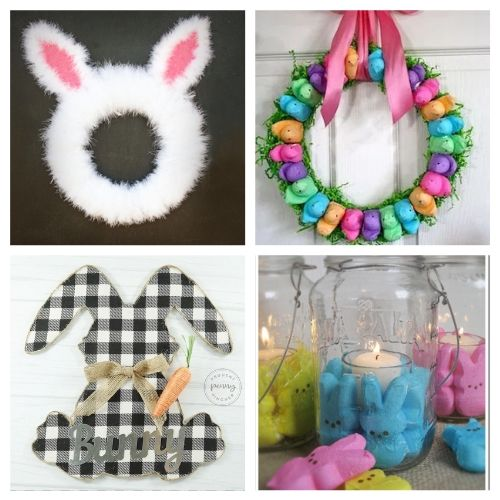 20 Easter Dollar Store DIY Decor Ideas- All of these adorable dollar store Easter DIY decor ideas are great for getting your home ready for spring! They're easy, plus budget-friendly! | #Easter #DIY #dollarStoreCraft #EasterDecor #ACultivatedNest