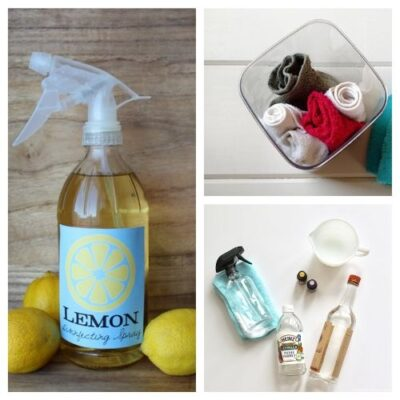 10 Best DIY Disinfecting Cleaners - Get your house in order with the Best DIY Disinfecting Cleaners! They work well for killing germs and are a great way to save money too.   #ACultivatedNest
