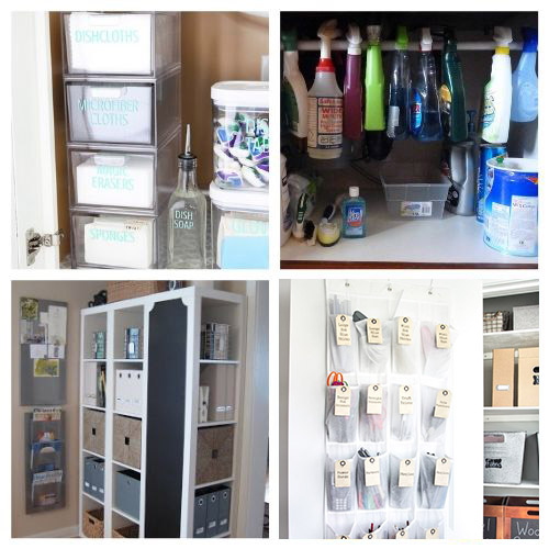 20 Clever DIY Vertical Storage Solutions- If you live in a small space you need these DIY vertical storage solutions in your life! They're easy to set up and a great way to enhance your space! | #organizingTips #storageSolutions #homeOrganization #organizing #ACultivatedNest
