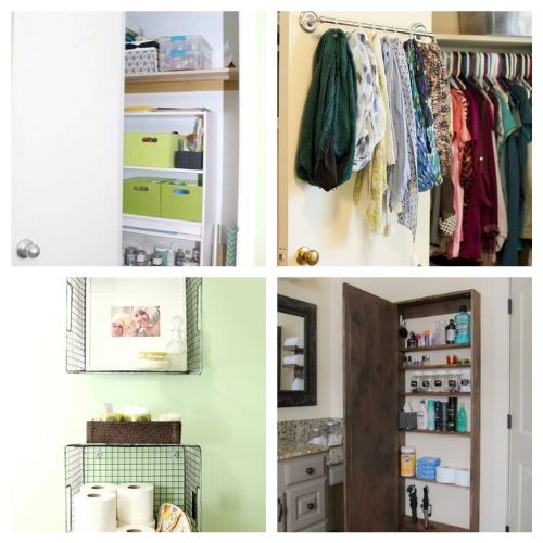 20 Clever Vertical Storage Solution DIYs- If you live in a small space you need these DIY vertical storage solutions in your life! They're easy to set up and a great way to enhance your space! | #organizingTips #storageSolutions #homeOrganization #organizing #ACultivatedNest