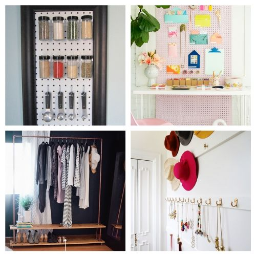 20 Clever Vertical Organizer DIYs- If you live in a small space you need these DIY vertical storage solutions in your life! They're easy to set up and a great way to enhance your space! | #organizingTips #storageSolutions #homeOrganization #organizing #ACultivatedNest