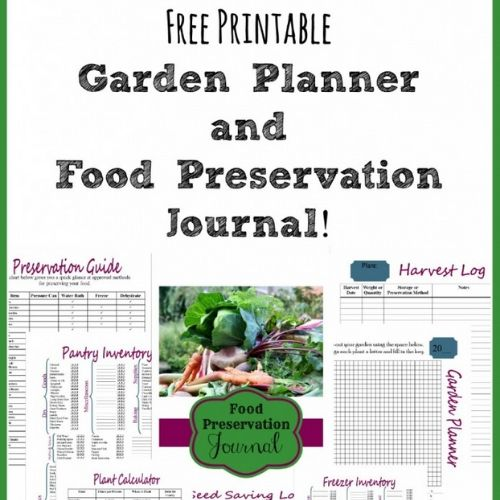 10 Free Printable Garden Journals- These free printable garden planners will help you plan your best garden ever! Whether you're growing vegetables or flowers, they're sure to help! | #gardening #gardenPlanner #gardeningTips #vegetableGarden #ACultivatedNest