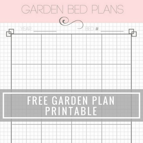 10 Garden Planner Freebies- These free printable garden planners will help you plan your best garden ever! Whether you're growing vegetables or flowers, they're sure to help! | #gardening #gardenPlanner #gardeningTips #vegetableGarden #ACultivatedNest