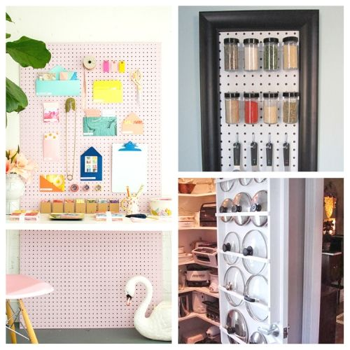 20 Clever Vertical Storage Solutions- If you live in a small space you need these DIY vertical storage solutions in your life! They're easy to set up and a great way to enhance your space! | #organizingTips #storageSolutions #homeOrganization #organizing #ACultivatedNest