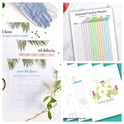 10 Free Printable Garden Planners