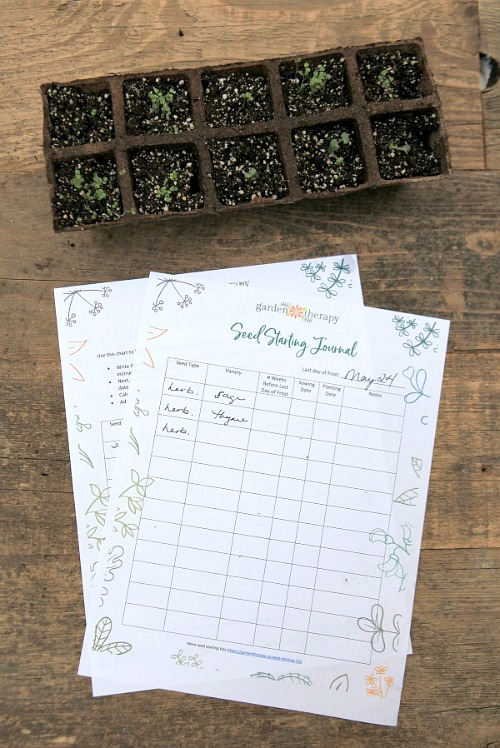 10 Free Printables for Your Garden Journal- These free printable garden planners will help you plan your best garden ever! Whether you're growing vegetables or flowers, they're sure to help! | #gardening #gardenPlanner #gardeningTips #vegetableGarden #ACultivatedNest