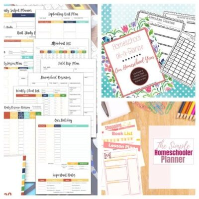 20 Free Printable Homeschool Planners
