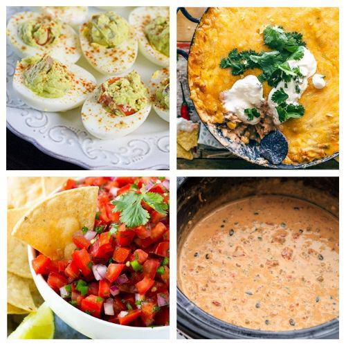 20 Cinco de Mayo Appetizers- If you're hosting a Cinco de Mayo party, you have to check out these 20 delicious Cinco de Mayo appetizer recipes! They're so easy to make! | #cincoDeMayo #appetizer #recipe #appertizerRecipes #ACultivatedNest