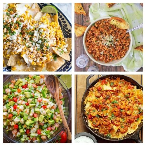 20 Appetizer Recipes for Cinco de Mayo- If you're hosting a Cinco de Mayo party, you have to check out these 20 delicious Cinco de Mayo appetizer recipes! They're so easy to make! | #cincoDeMayo #appetizer #recipe #appertizerRecipes #ACultivatedNest