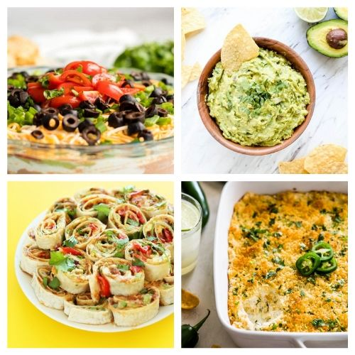 20 Appetizers for Cinco de Mayo- If you're hosting a Cinco de Mayo party, you have to check out these 20 delicious Cinco de Mayo appetizer recipes! They're so easy to make! | #cincoDeMayo #appetizer #recipe #appertizerRecipes #ACultivatedNest