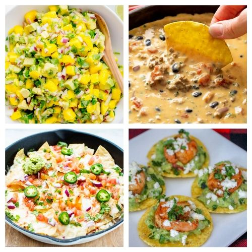 20 Cinco de Mayo Party Appetizers- If you're hosting a Cinco de Mayo party, you have to check out these 20 delicious Cinco de Mayo appetizer recipes! They're so easy to make! | #cincoDeMayo #appetizer #recipe #appertizerRecipes #ACultivatedNest
