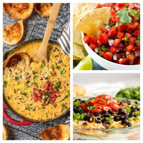 20 Cinco de Mayo Appetizer Recipes- If you're hosting a Cinco de Mayo party, you have to check out these 20 delicious Cinco de Mayo appetizer recipes! They're so easy to make!   #cincoDeMayo #appetizer #recipe #appertizerRecipes #ACultivatedNest