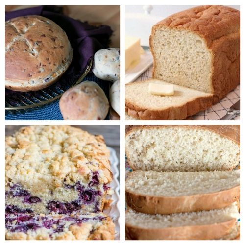 20 Delicious Recipes for Homemade Bread- These delicious homemade bread recipes are so easy to make and will win over a crowd in minutes. Bake them for any occasion and enjoy with a smile! | baked goods, baking recipes, homemade sandwich bread, homemade dessert bread, #homemade #bread #baking #recipe #ACultivatedNest